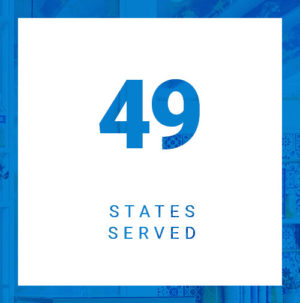 49 states served