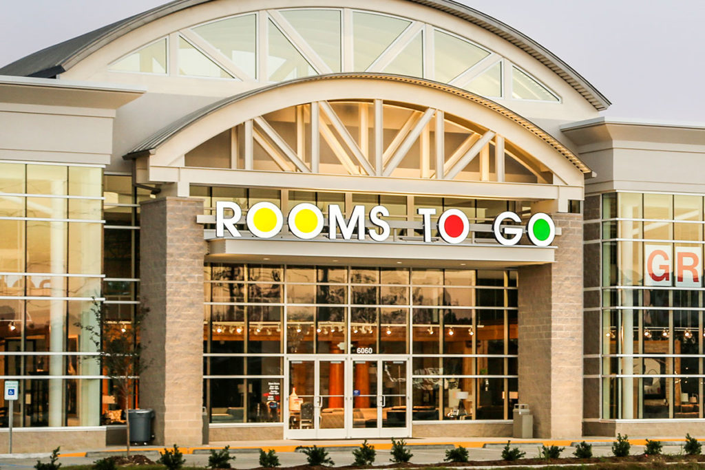 Rooms To Go Storefront