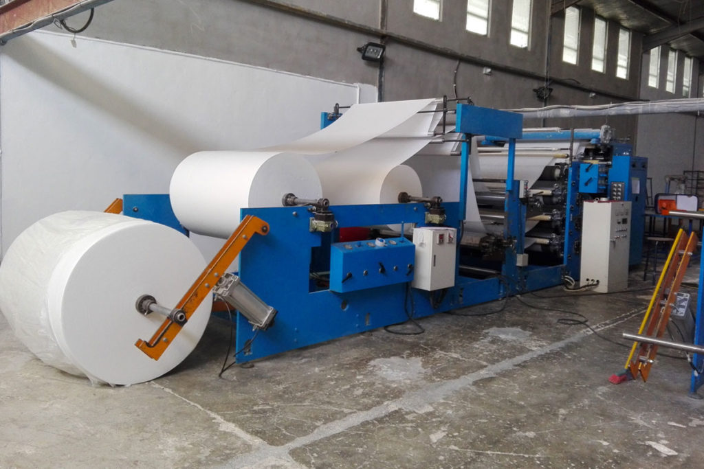 Industrial Paper Machine