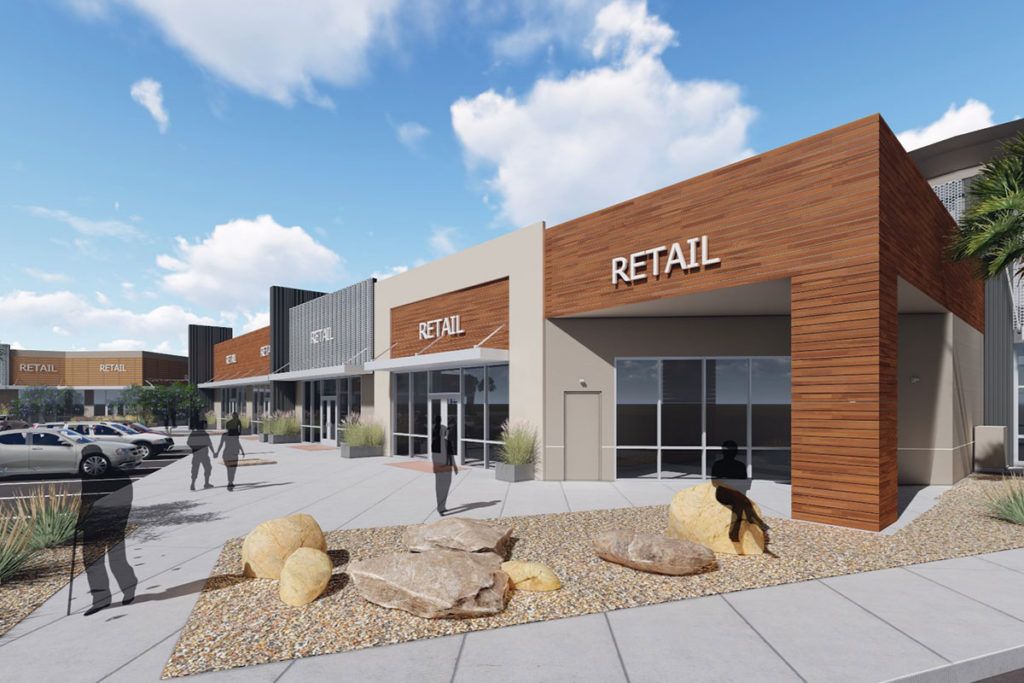 Retail Outlet Rendering