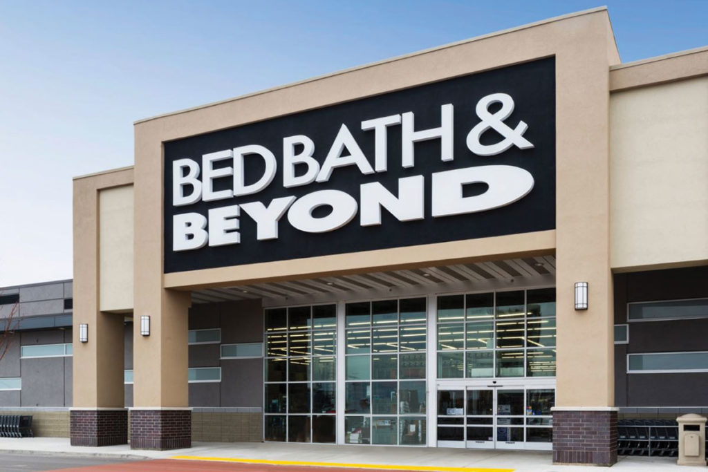 Bed Bath & Beyond entrance