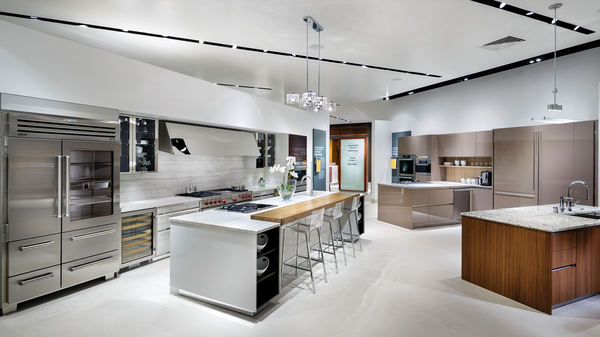 Pirch Kitchen Showroom, Retail Design