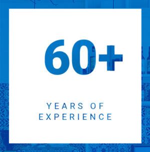 60+ Years of Experience